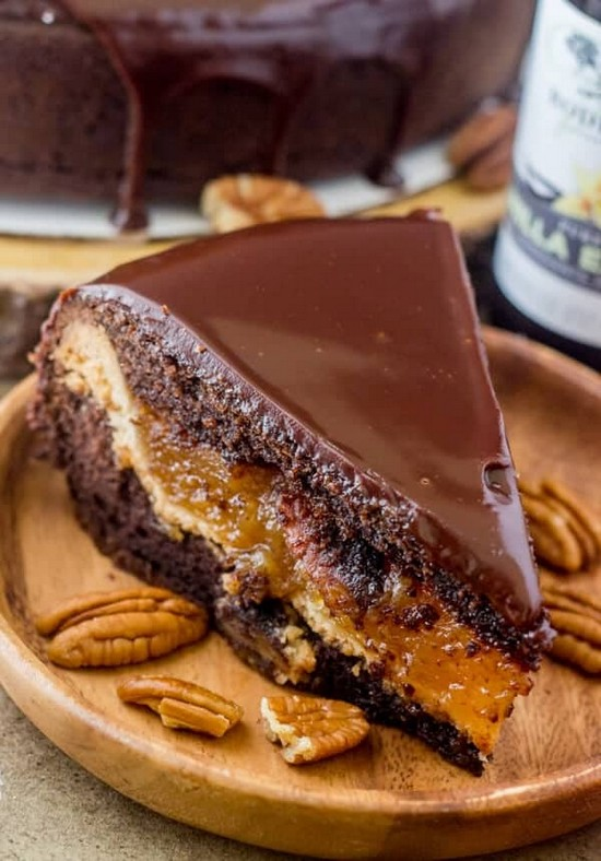 Chocolate Pecan Piecaken Recipe