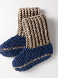 Adorable And Durable Collection Of Free Crochet Socks Patterns