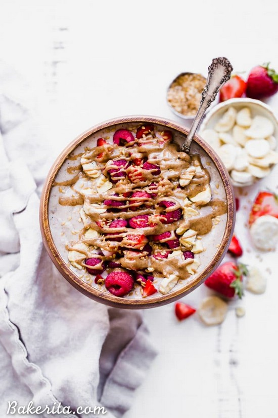 Banana Date Smoothie Bowl Recipe