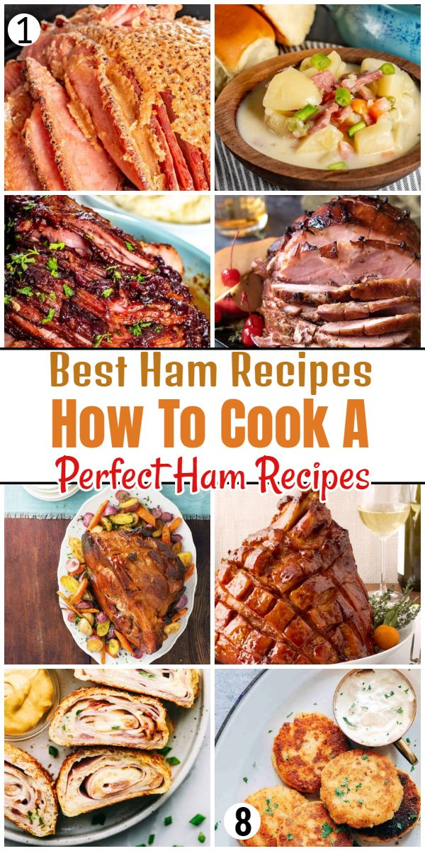 Best Ham Recipes - How To Cook A Perfect Ham Recipes