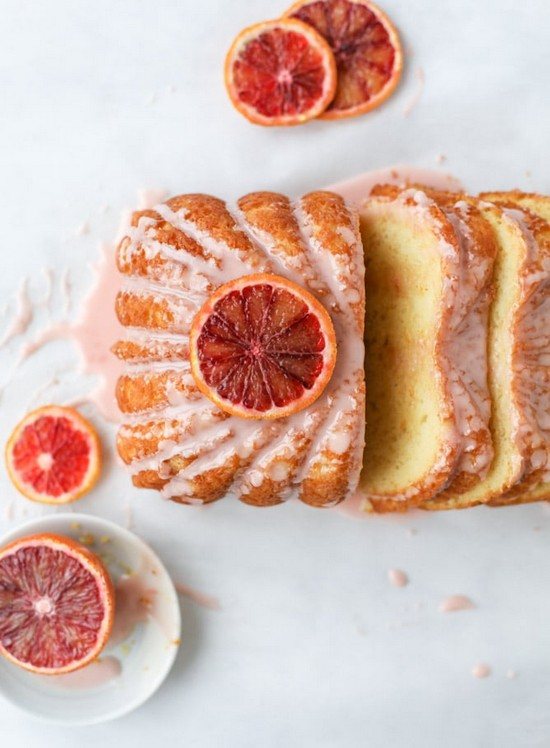 Blood Orange Yogurt Cake Breakfast Recipe
