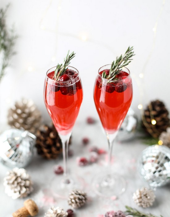 Christmas Morning Mimosas Breakfast Recipe