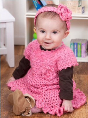 Cute Free Crochet Baby Dress Patterns For Your Baby