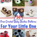 50 Free Crochet Baby Booties Patterns