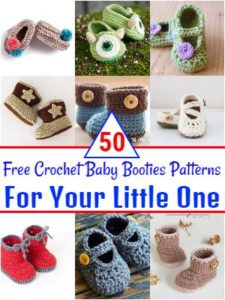 Free Crochet Baby Booties Patterns For Your Little One