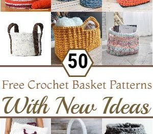 Free Crochet Basket Patterns With New Ideas