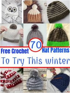 Free Crochet Hat Patterns To Try This winterFree Crochet Hat Patterns To Try This winter