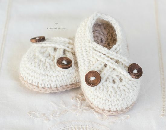 Free Crochet Swiss Coffee Booties Pattern