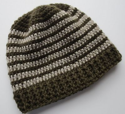 Free Crocheted Ribbed Hat PatternFree Crocheted Ribbed Hat Pattern
