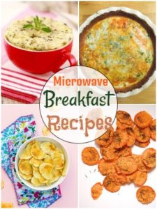 Microwave Breakfast Recipes