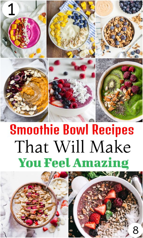 Smoothie Bowl Recipes That Will Make You Feel Amazing