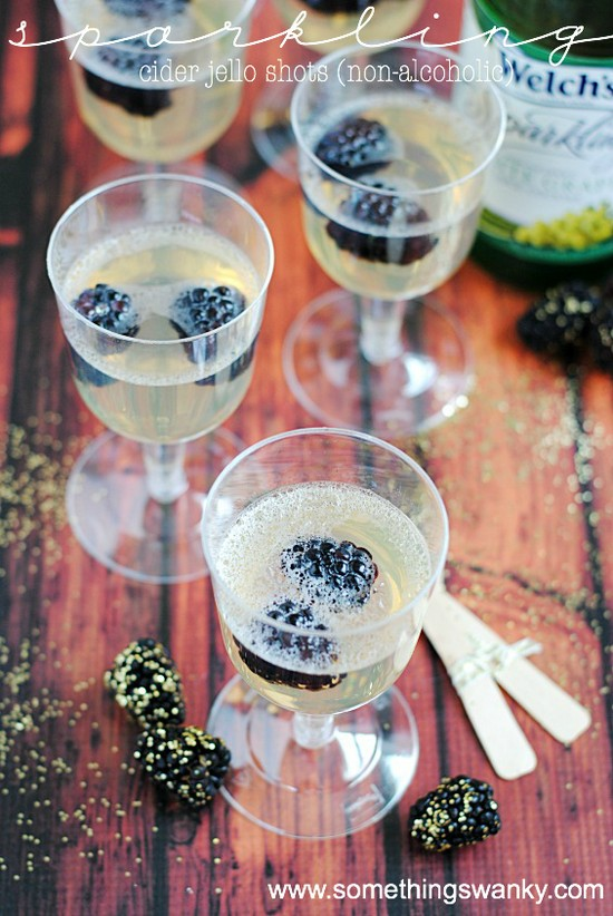 Sparkling Cider Jello Shots Recipe