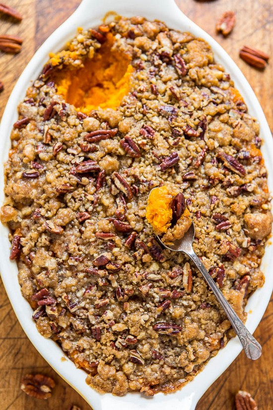 Sweet Potato Casserole With Butter Recipe