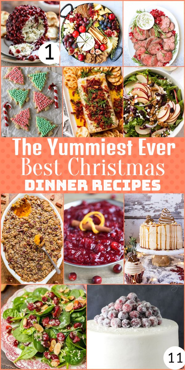 The Yummiest Ever Best Christmas Dinner Recipes