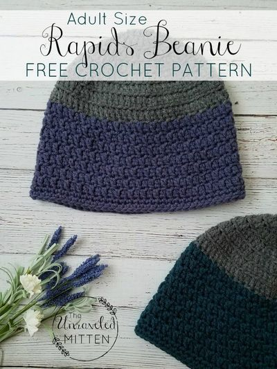 Crochet Beanie Pattern For Adult