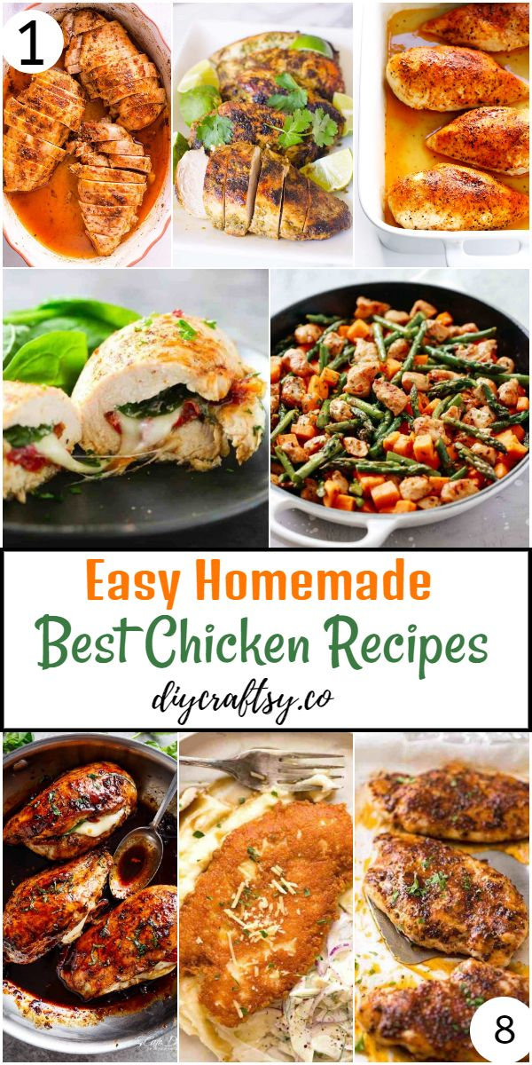 Easy Homemade Best Chicken Recipes