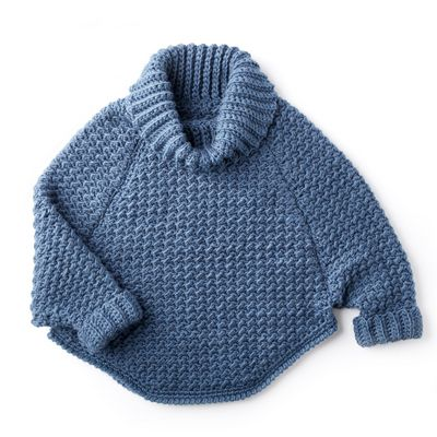 Free Crochet Pattern Of Cowl Pullover