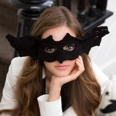 Gone Batty Crochet Mask Pattern