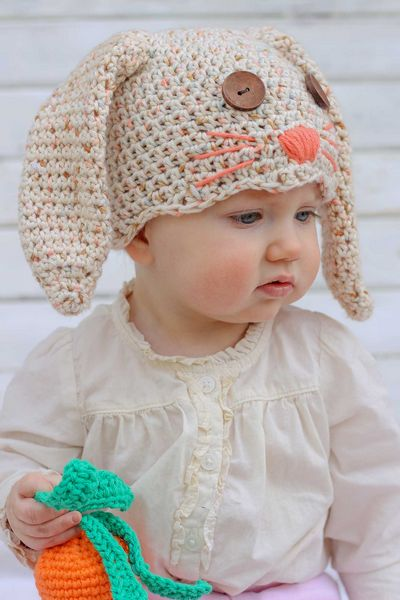 How To Make A Crochet Hat Bunny Pattern