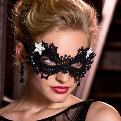 Masquerade Fancy Crochet Eye Mask