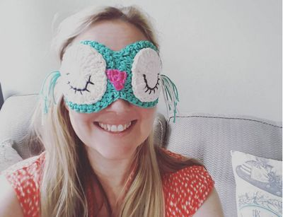 Owl Eye Crochet Mask Pattern