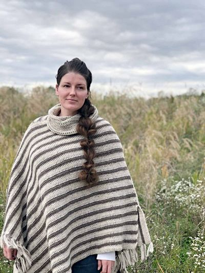 Rectangle Poncho Pattern For Crocheting