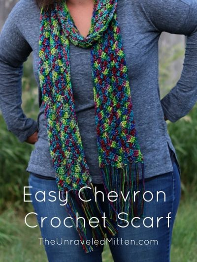 Free Crochet Headlands Scarf Pattern