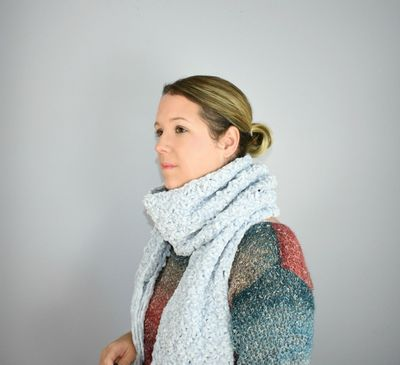 Free Crochet The Hopewell Scarf Pattern