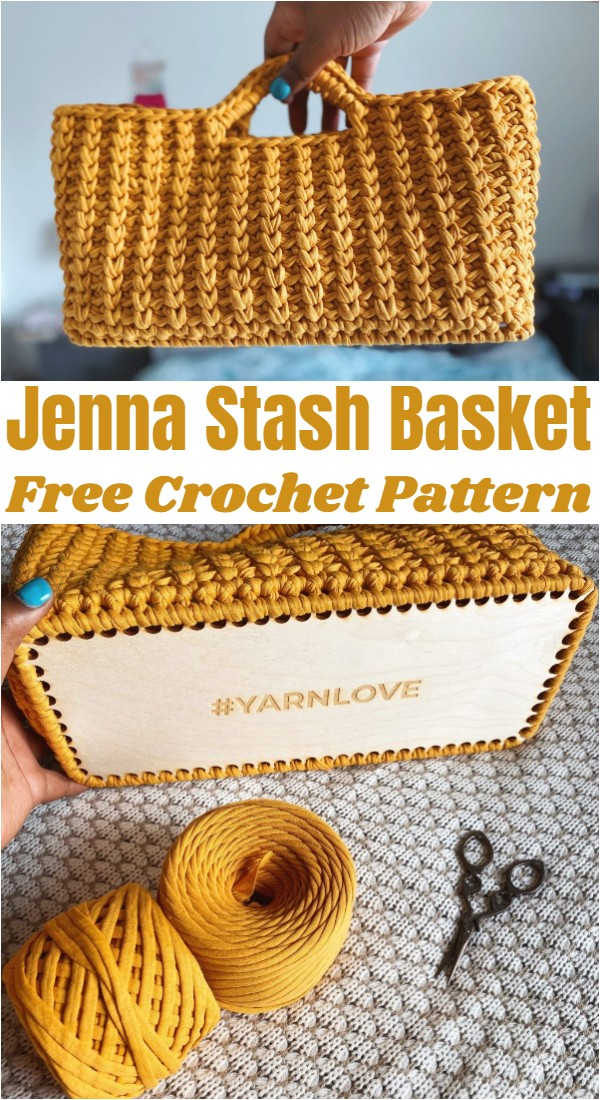 Crochet Jenna Stash Basket