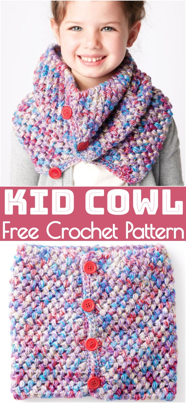 Crochet Kid Cowl