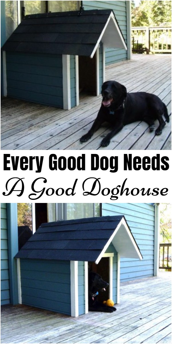 Every Good Dog Needs A Good Doghouse