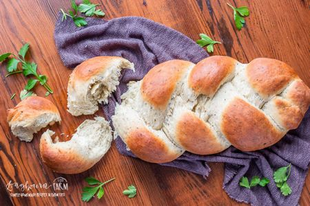 60 Minute Homemade Herb Bread Recipe