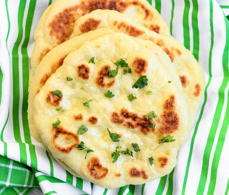 Best Homemade Naan Bread Recipe