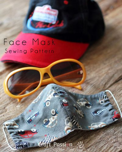 DIY Face Mask Sewing Idea