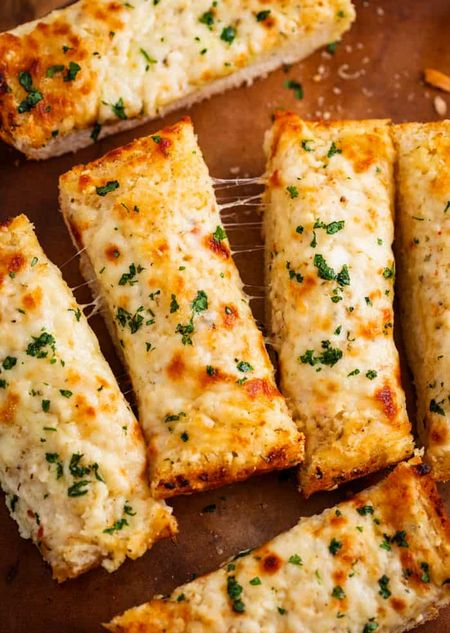 Homemade Garlic Bread Recipe