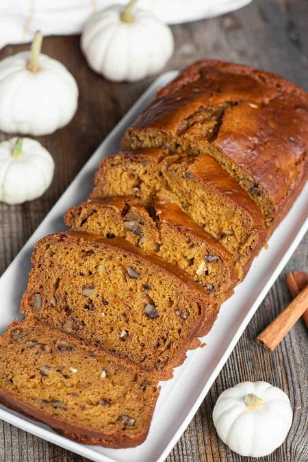 Make A Pumpkin Bread In Home