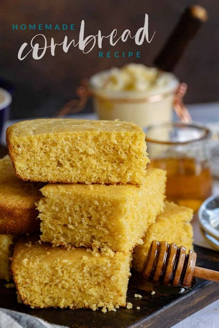 Yummy Homemade Cornbread Recipe
