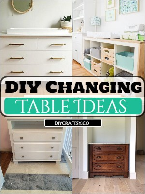 DIY Changing Table Ideas For Kids Room