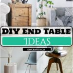 19 Best DIY End Table Ideas To Beautify Your Home Uniquely