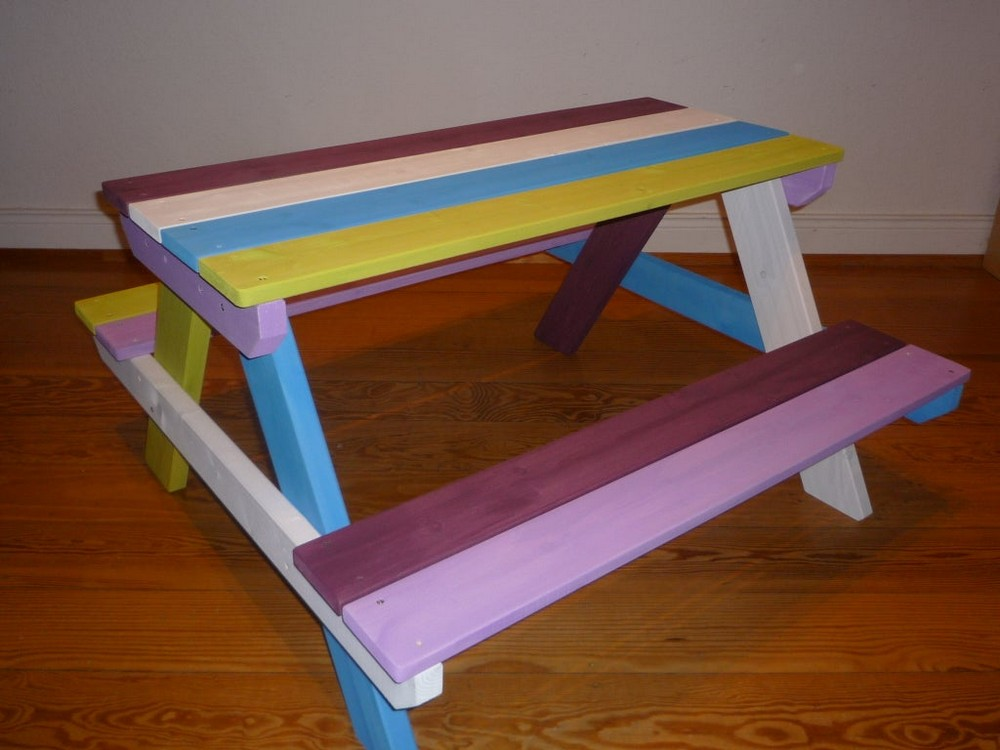 Colorful Kids Table