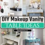 DIY Makeup Vanity Table Ideas With Excellent Storage Options