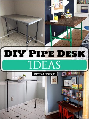 DIY Pipe Desk Ideas Cheap And Useful