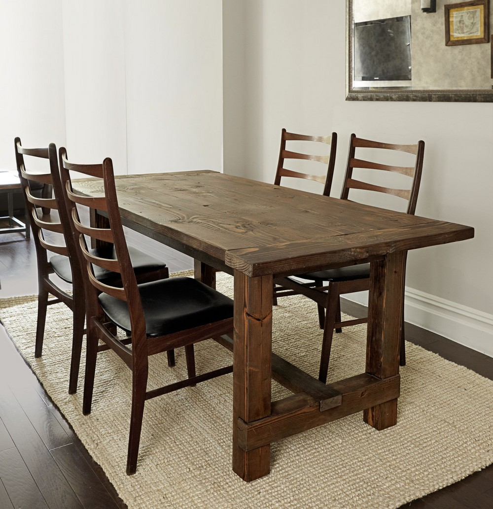 Rustic style Tablefor dinding room