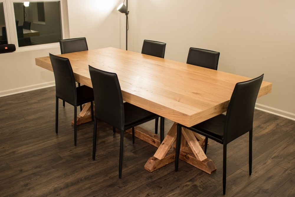 DIY Thick Table Top