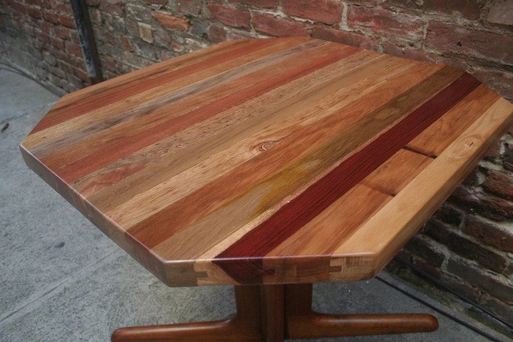DIY Tongue and Groove Table Top