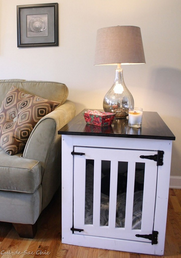 Dog Kennel Coffee Table