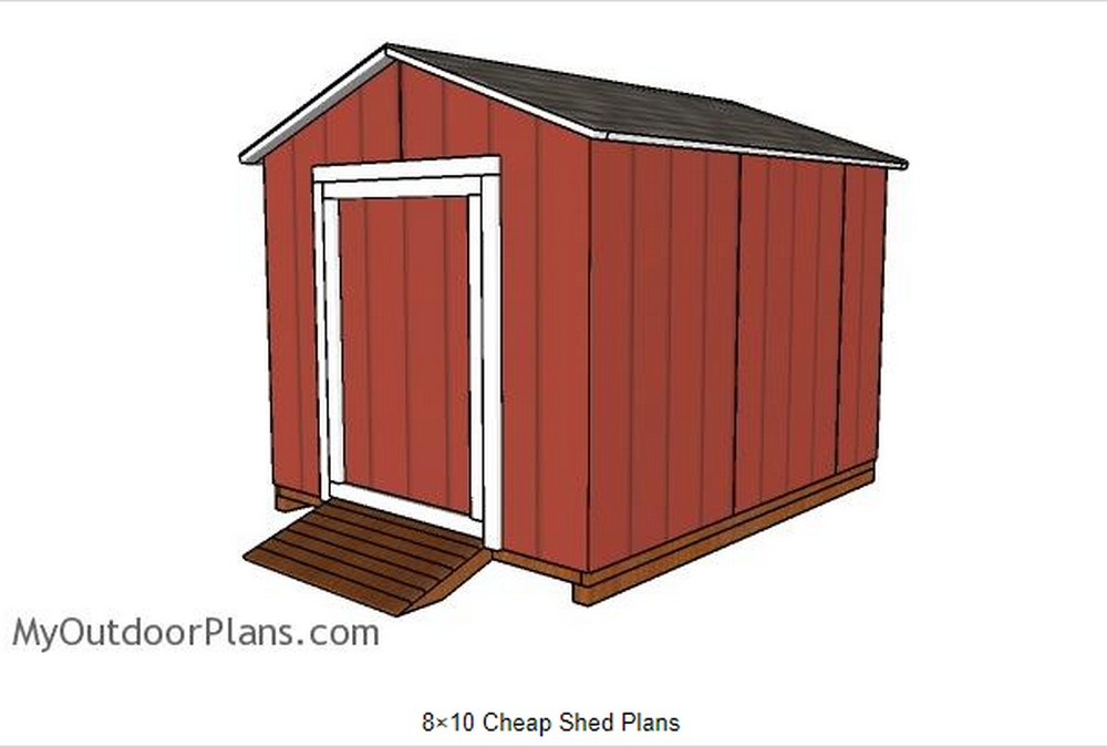 Homemade shed