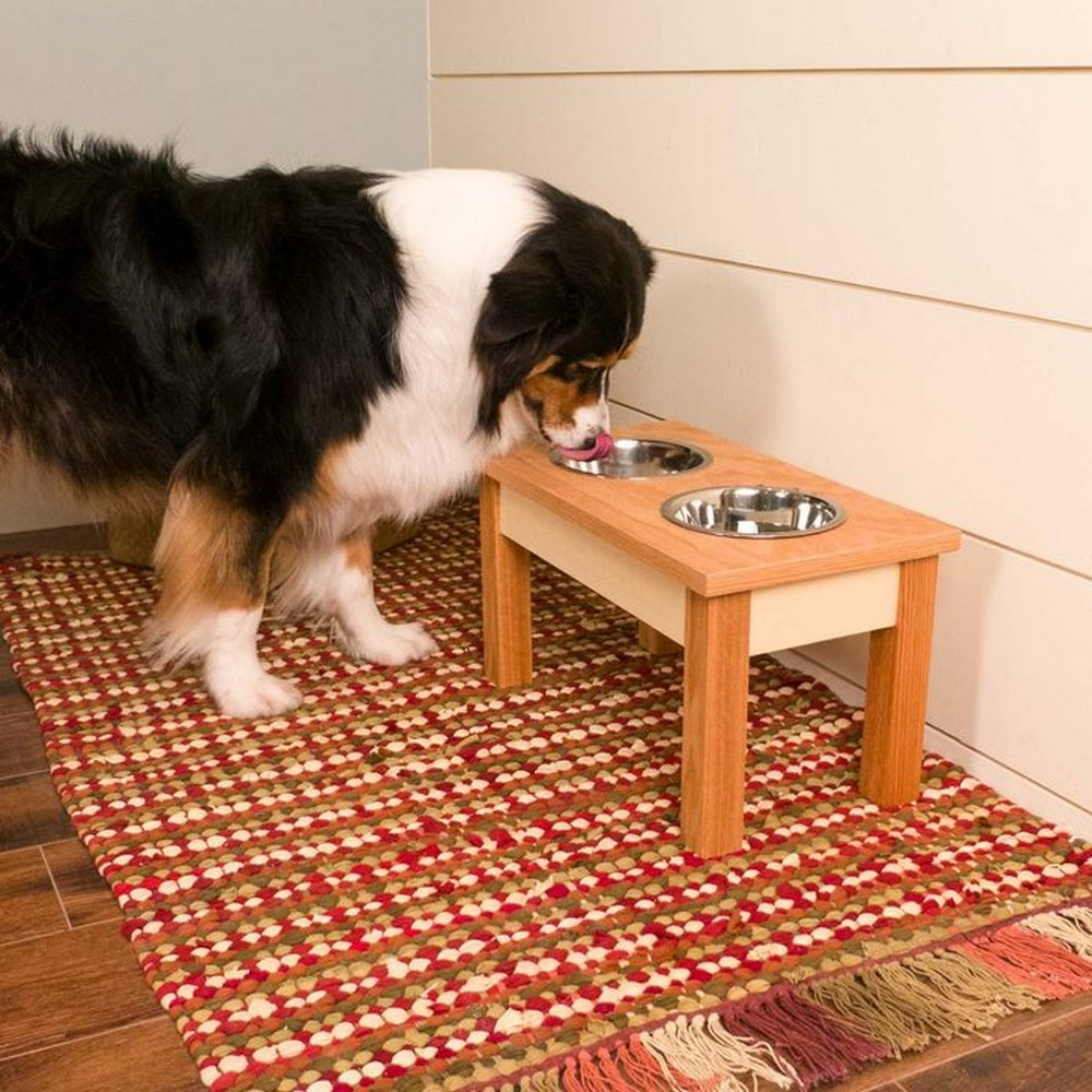 How To Build A Dog Bowl Stand