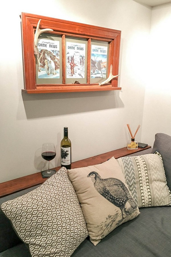 DIY Behind The Couch Table