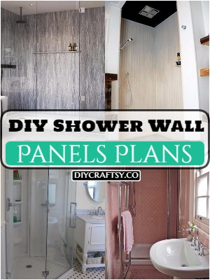 25 DIY Shower Wall Panels Plans Easy To Make
